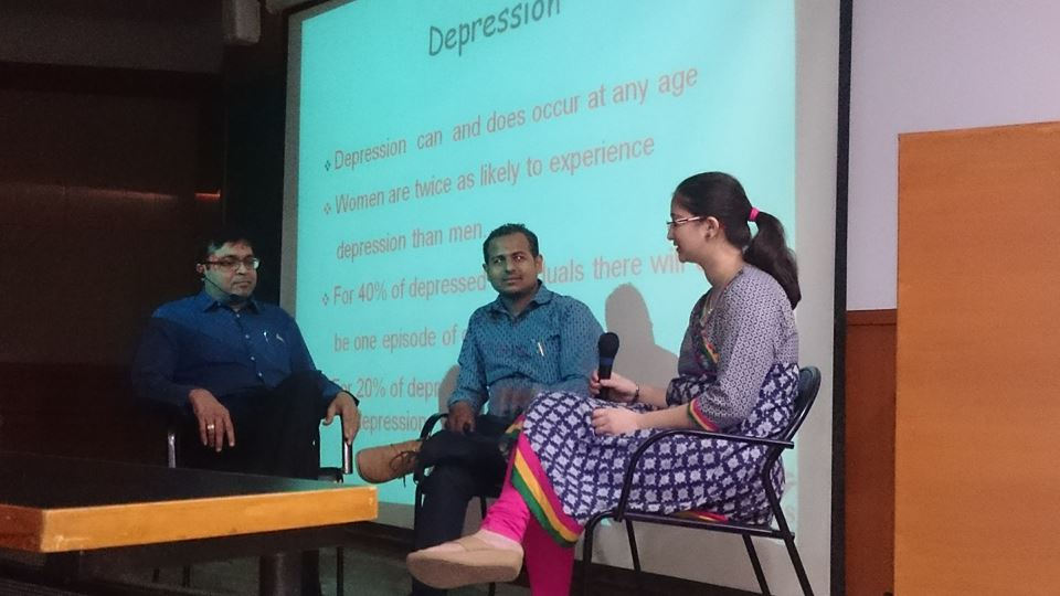Celebration world Mental Health day at Ahmedabad Dental College, Bhadaj.