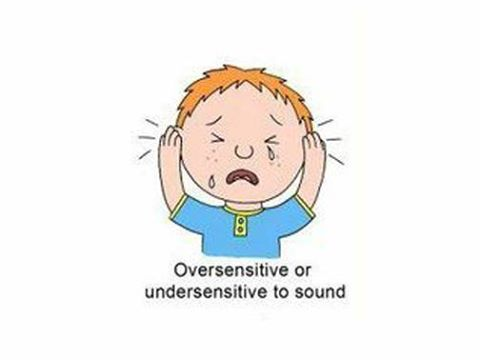 Oversensitive or undersensitive to sound