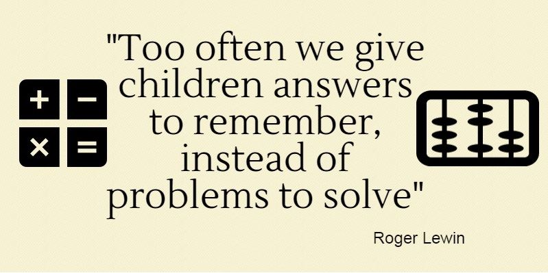 we need to help our children to learn problem solving…