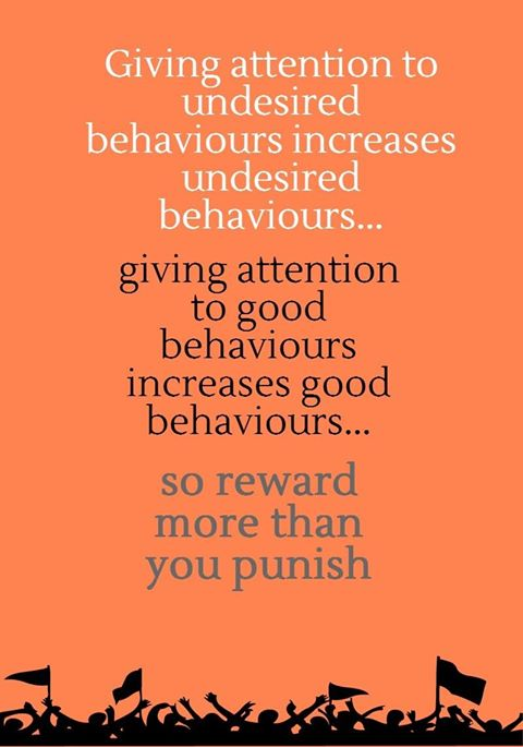 Undesired behaviours increases