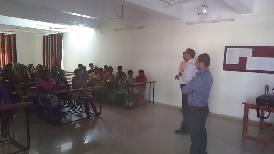Lecture by Director Dr. Himanshu desai