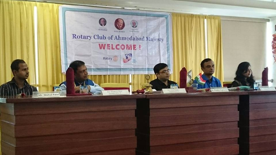 Rotary Club Majesty had invited GIPS for an interactive session on Healthy life