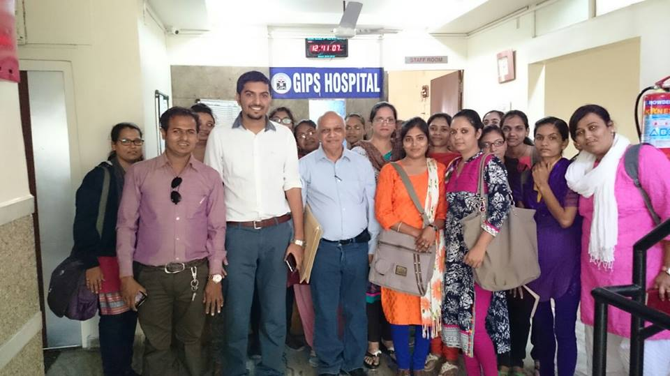PGDCP students visited GIPS