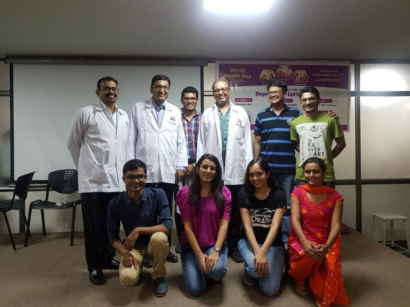 Director GIPS give talk on Depression
