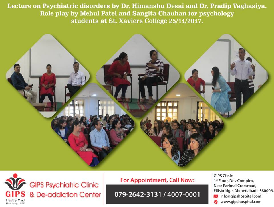 Lecture On Psychiatric Disorders By Dr. Himanshu Desai